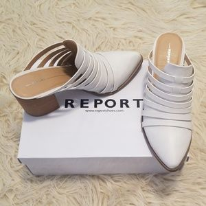 Report White Heeled Mules